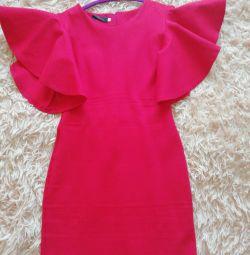 Dress bandage red