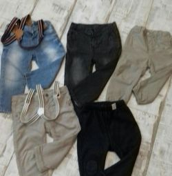 Trousers, jeans, pants package