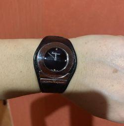 Ferragamo watch, in suite, leather belt,