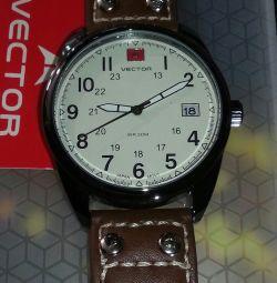 Часы vector