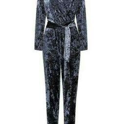 Velvet overalls new💜
