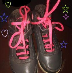 Original fila leather high top sneakers