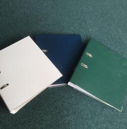 Folders used