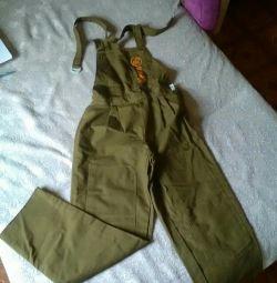 Men's overalls 50 r