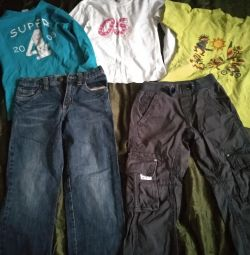 Pack for 4-5 years old boy