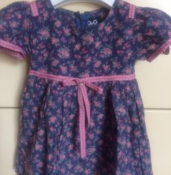 Dress cotton cotton dolce, in excellent condition