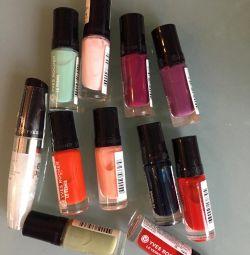 new nail polishes