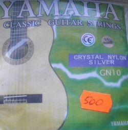 Yamaha telleri naylon gümüş