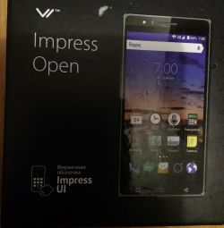 Smartphone vertex impress open