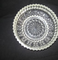 Dish - crystal.