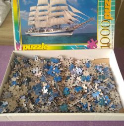 Puzzles for 1000 pieces