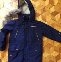 Winter children's jacket p.139
