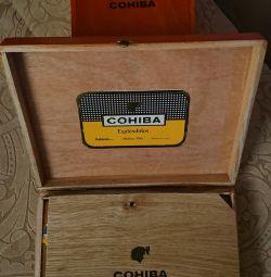 Коробка из под COHIBA IV