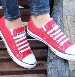Συζητήστε τα πάνινα παπούτσια