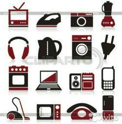 Επισκευή / συντήρηση οικιακών συσκευών και ηλεκτρονικών ειδών