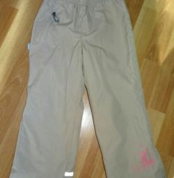 Lenne's demi seasonal pants for a girl, height 116