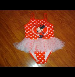Swimsuit with tutu