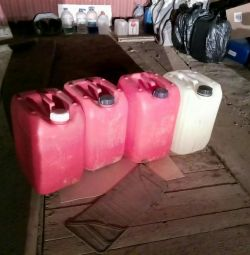 20-liter canisters