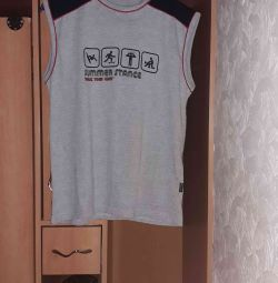 T-shirt without sleeves size S 46-48