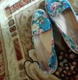 Ayakkabı, bale ayakkabıları, mokasen 36 numara