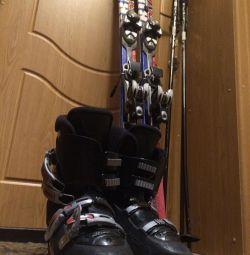 Mountain skis SALAMON kit