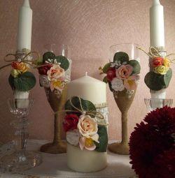 Accesorii de nunta rustice