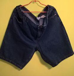 Pantaloni scurți din denim 64 dimensiune