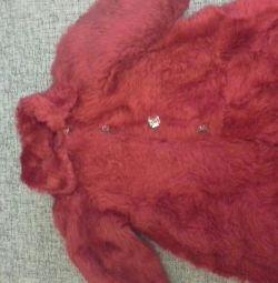 Γούνα παλτό μικρή γούνα