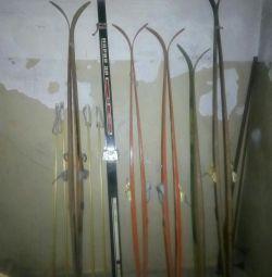 6 çift kayak satıyorum