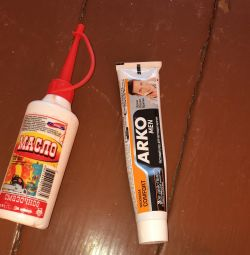 Lubricating oil and after-shaving cream ARCO