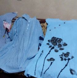 Νέα φορέματα από βαμβάκι με λινάρι
