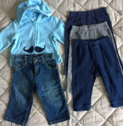 Одежда Baby8, Crazy8, HM 6-12 мес.б/у