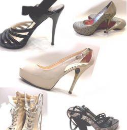Παπούτσια, σανδάλια Ιταλία, πρωτότυπο, μέγεθος 38