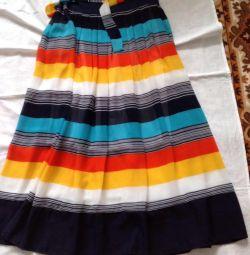 New chiffon skirt p 44