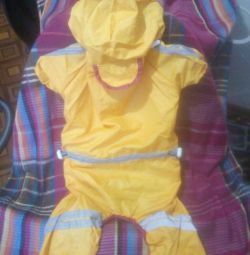 New raincoat, XL