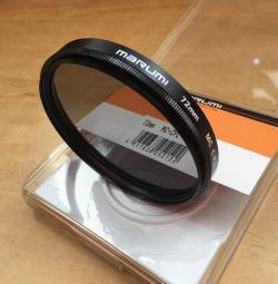 Polarizing filter Marumi 72 mm