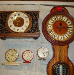 Ρολόι πυραύλων δόνησης ρολόι μηχανική USSR