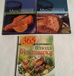 Multicooker new recipe books