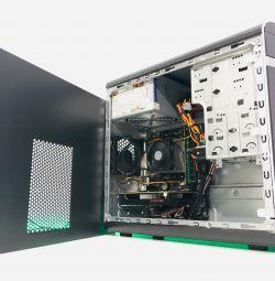 4-х ядерный системник RX 550 2Gb / DDR3 8Gb