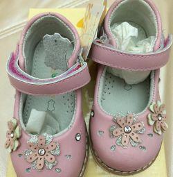 Pantofi cu cristale pe branț 14cm