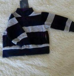 New sweatshirt for a boy.