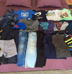 Package of children's things, size 92-98