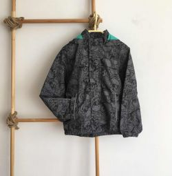 Windbreaker height 128 cm