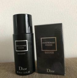 Dior men's set deodorant and perfume