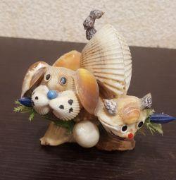 Сувенир из ракушек