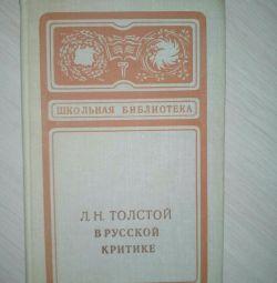 L.N. Tolstoy în critica Rusiei