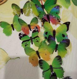 Метелик 3Д для декору