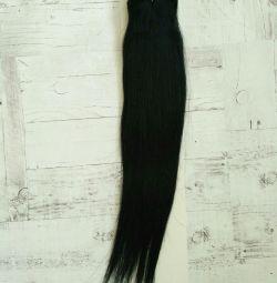 Φυσικά μαύρα νέα μαλλιά