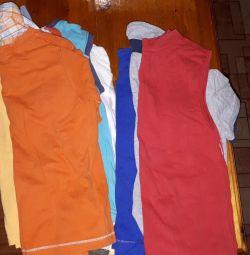 Майки, сорочки та шорти