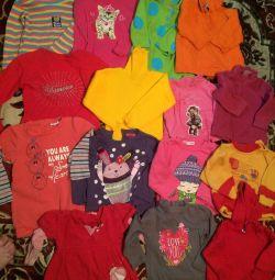 Bluza pentru o fată de la 6 luni
